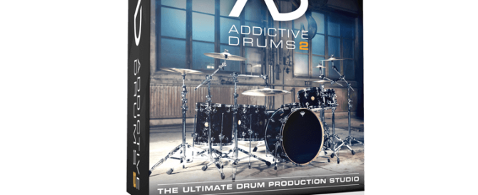 Addictive drums  box