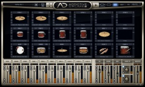 Addictive drums kit page